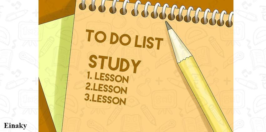 چطور شب امتحانی درس بخونیم؟ 14