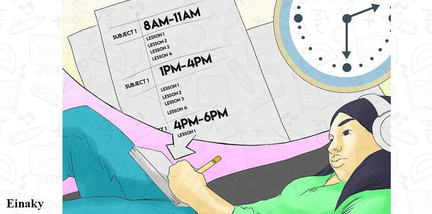 چطور شب امتحانی درس بخونیم؟ 13