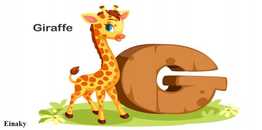 آموزش حرف G زبان انگلیسی