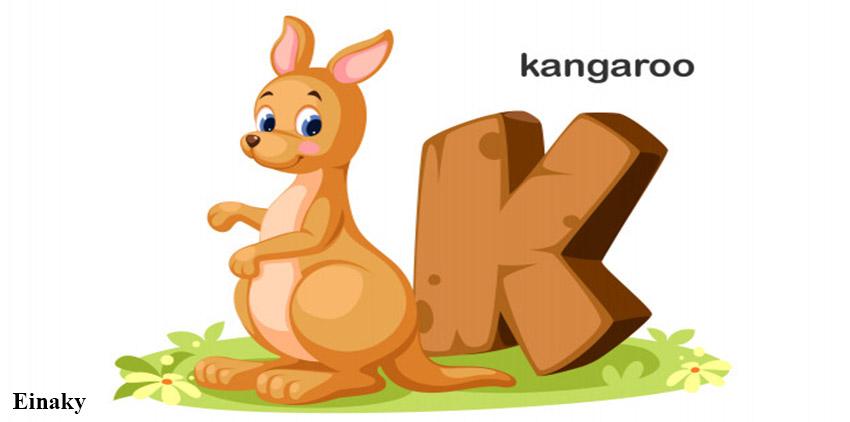 آموزش حرف K زبان انگلیسی