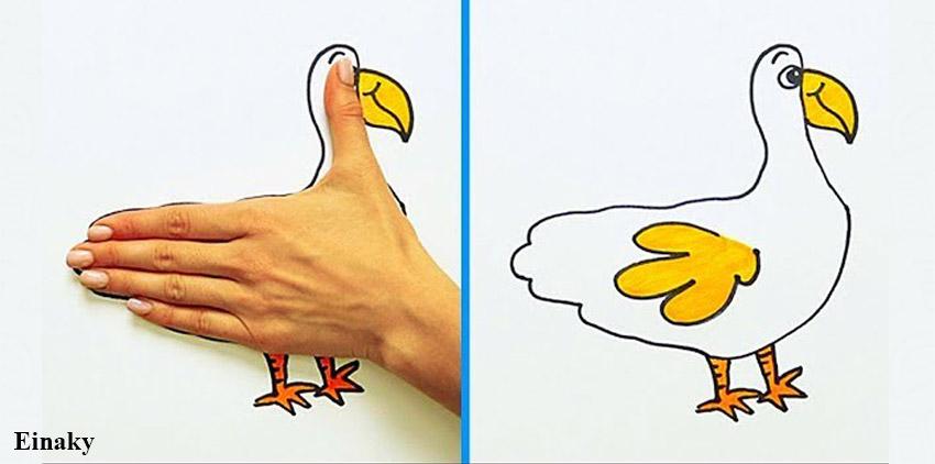 آموزش نقاشی با دست